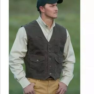 NWT Schaefer outfitters ranch wear western vest
